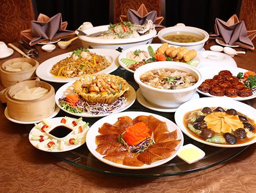 รับจัดโต๊ะจีน